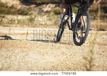 athlete man cycling on a bicycle