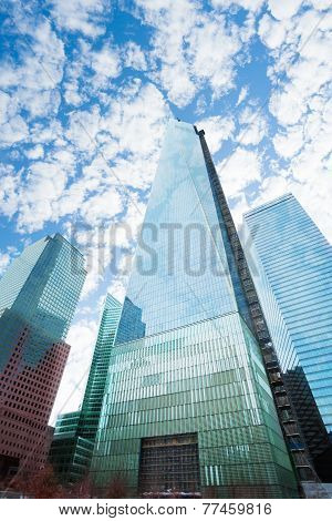 The view of One world trade center New York, USA