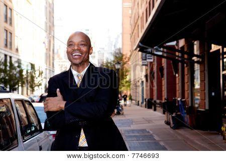 Laugh Business Man