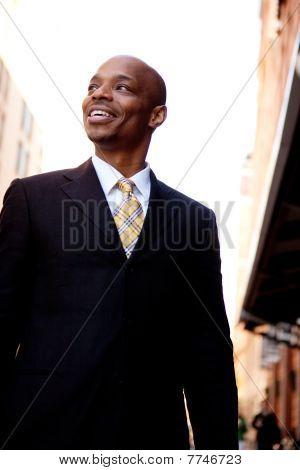 Business Man Street