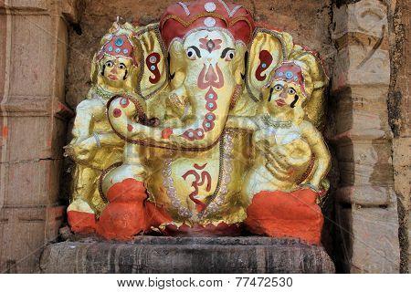 Ganesha Statue, Chittorgarh