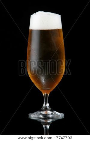 Beer Or Lager In Glass