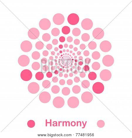 Simple Harmony Spiral Logo Conception