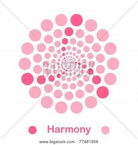 Simple Harmony Spiral Logo Conception
