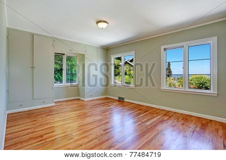 Empty Master Bedroom Interior