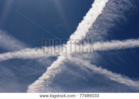 Condensation Trail - Heaven Cross