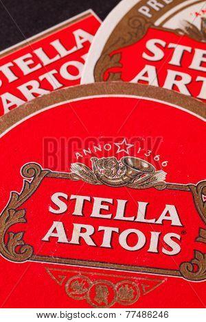 Beermats From Stella Artois