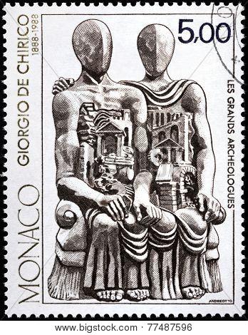 Giorgio De Chirico Stamp