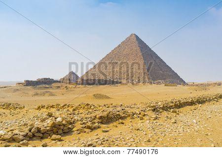 In Giza Necropolis