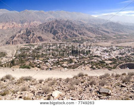 City of Tilcara, Jujuy, Argentina