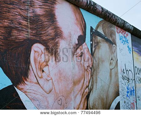 Berlin Wall Famous Graffiti