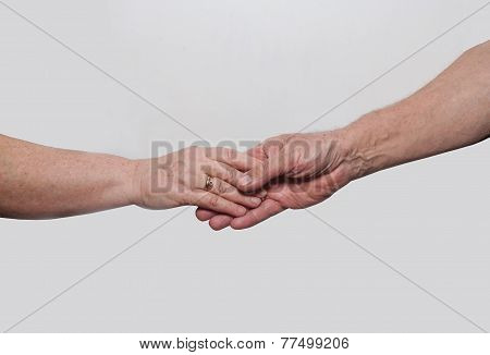 Two Hands Grandparents