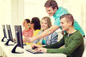 stock photo of informatics  - education - JPG