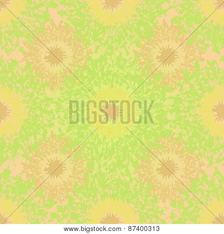 Abstract seamless light green summer background.