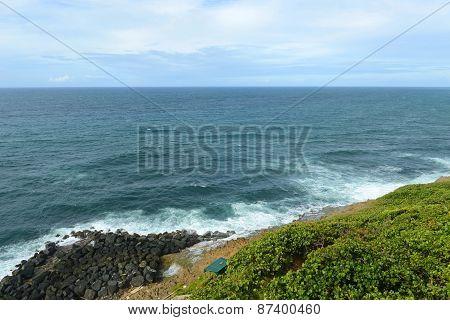 San Juan Rocky Coast, Puerto Rico