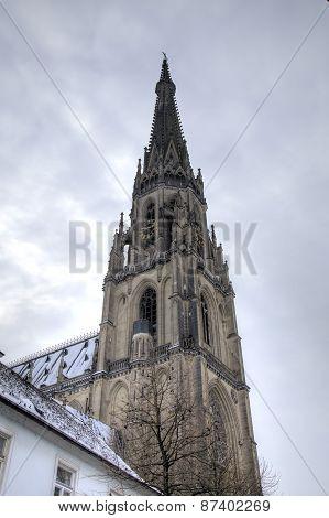 New Cathedral (Neuer Dom, Mariendom). Linz, Austria
