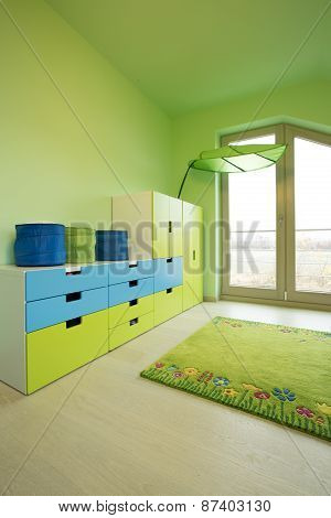 Colorful Commode