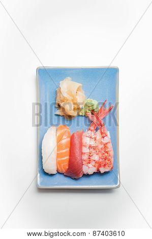 Sushi Plate With Nigiri