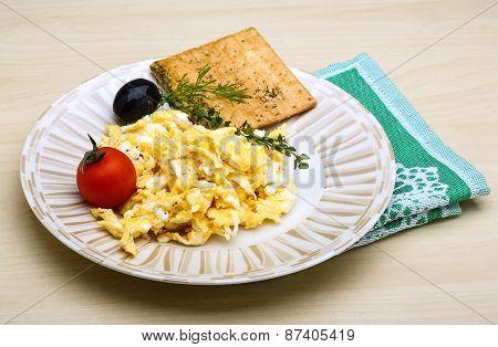 Scrambled Eggs With Tomato