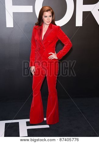 LOS ANGELES - FEB 20:  Amy Adams arrives to the Tom Ford Autumn/Winter 2015 Womenswear Collection Presentation  on February 20, 2015 in Hollywood, CA
