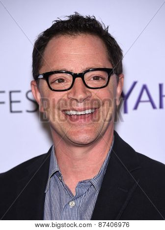 LOS ANGELES - MAR 08:  Joshua Malina arrives to the Paleyfest 2015