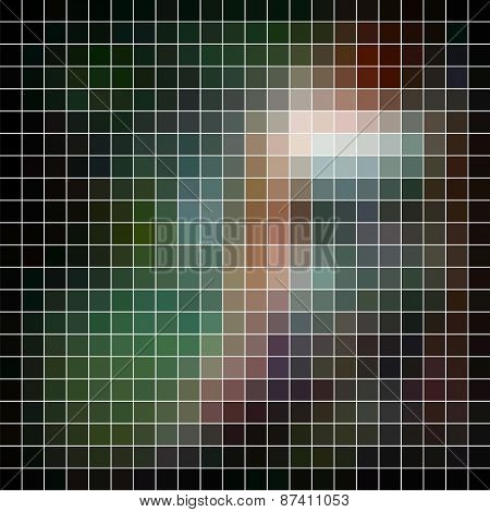 Abstract raster background.