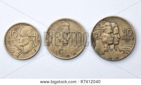 Yugoslav Dinars
