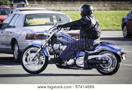 Motorcycle In Mulkiteo