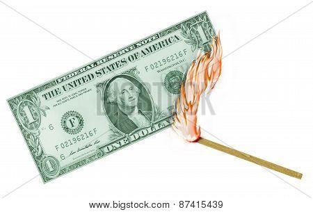 US Dollar Burn