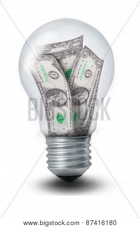 Dollar Lightbulb