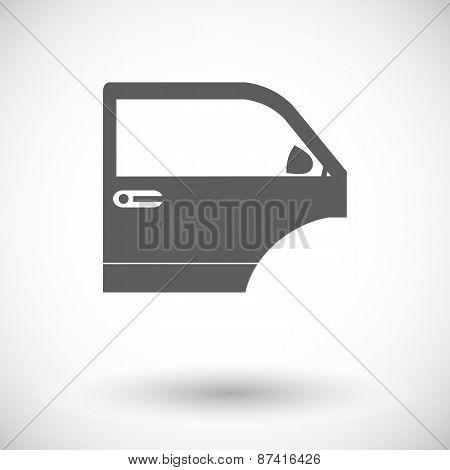 Car door.