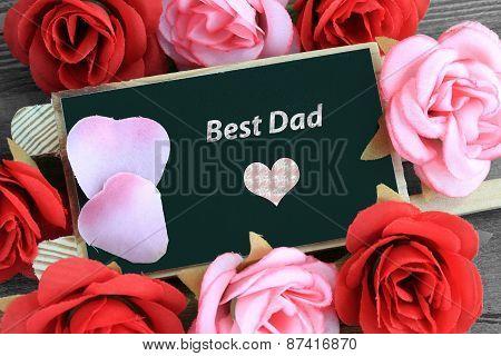 message of best dad