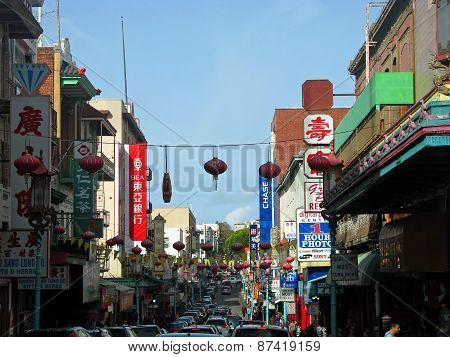 SAN FRANCISCO, CA - NOVEMBER 18:  The oldest Chinatown in North America 2012