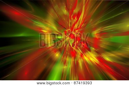 Abstract background reminiscent of magnetic fields.Fractal art graphics
