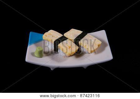 Sushi eggs