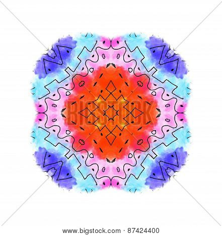 Abstract Color Shape