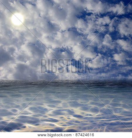 Blue Sunny Sky.