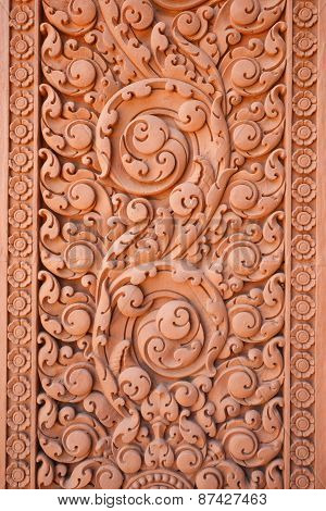 Thai Traditional Carving