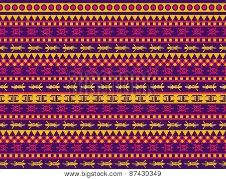 Turtle And Gecko Pattern