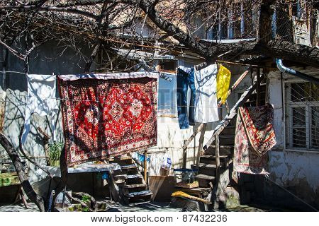 Way Of Life The Poor In Yerevan, Armenia