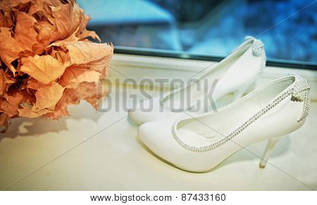 White Shoe Of The Bride