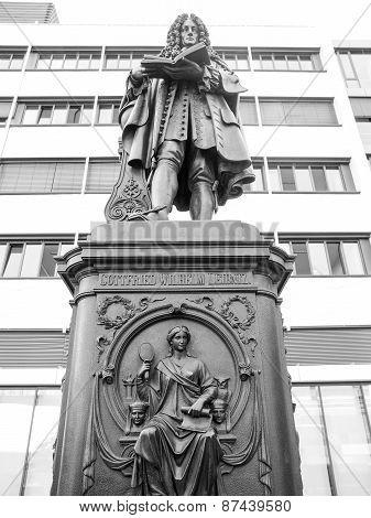 Leibniz Denkmal Leipzig