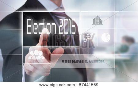 Election 2015 Concept