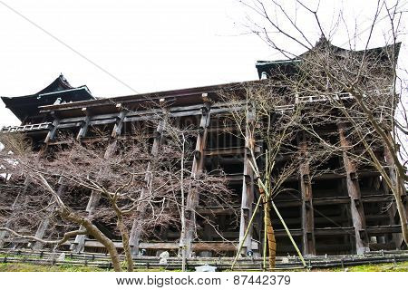 Kiyomizu Temple, Kyoto, Japan, The Temple Is Part Of The Historic:andmark Of Japan.