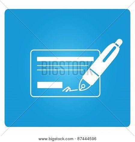 cheque symbol