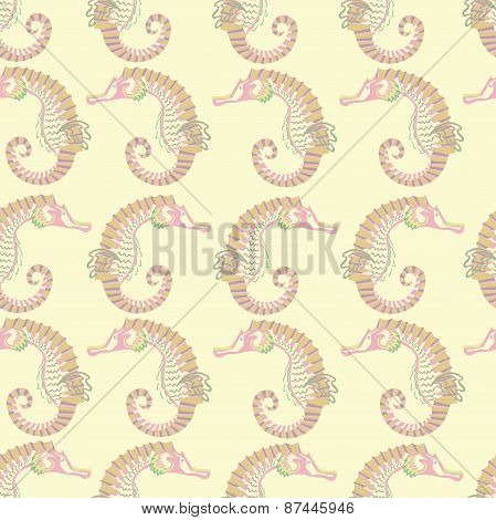 seamless pattern.cream background