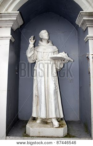 Old Statue From  An Irish Convent