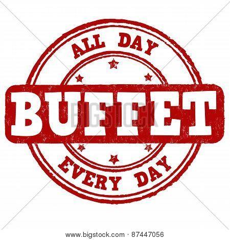 Buffet Stamp