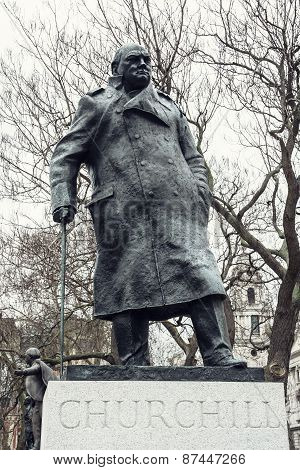 Statue Of Winston Churchill, Parliament Square