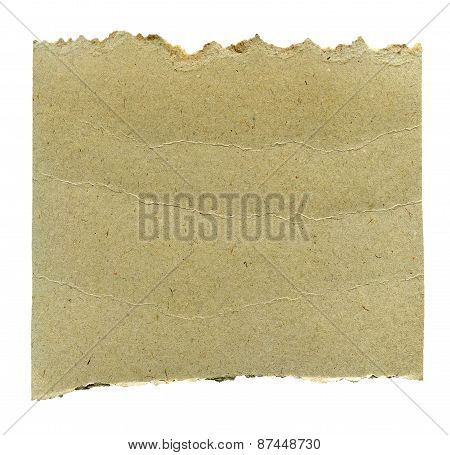 Torn Paper Isolated